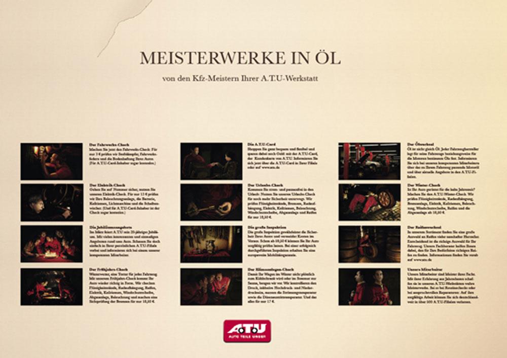 Meisterwerke in Öl